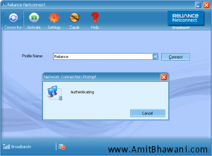 Trick to disable Reliance Netconnect from Opening reliancenetconnect.co.in