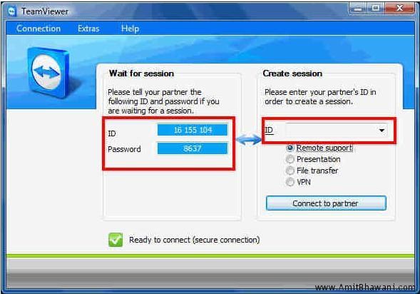 How to Share Desktop & Remote PC Access with Team Viewer