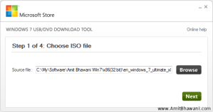 Install Windows 7 through USB on PC without DVD / CD – Download Tool