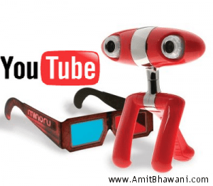 Convert Youtube Videos into 3D Viewing Mode
