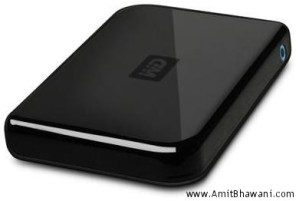 160Gb Western Digital 2.5″ External Hard Disk