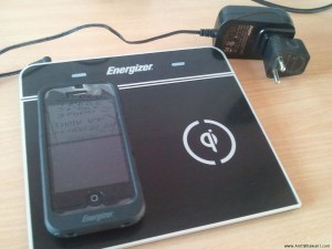 Energizer QI Inductive charger – Wireless charging of iPhone, Blackberry