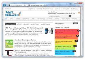 Internet Explorer 8.0 Demo