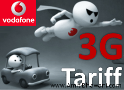 Vodafone 3G Tariff Plans – Prepaid Postpaid & Video Call Rentals