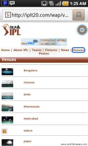 IPL Venues