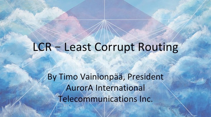Least Corrupt Routing