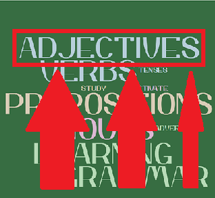 The adjectival order…