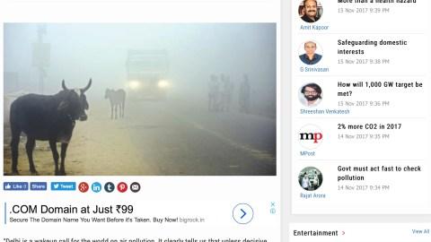 Graded measures, not knee-jerk reactions needed against air pollution