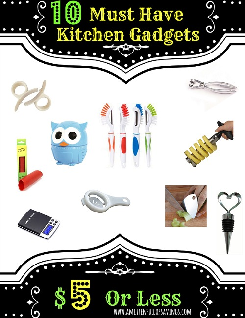 10 Must Have Kitchen Gadgets Under 5 Bucks A Mitten Full Of Savings