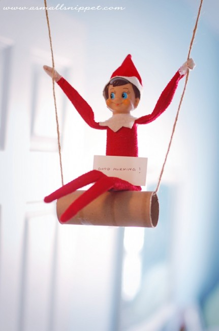 elf swinging