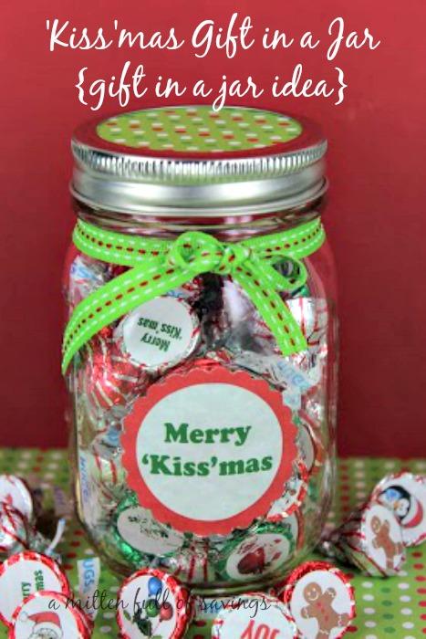 Kiss\'mas Mason Jar Gifts Idea - This Worthey Life - Food, Travel ...