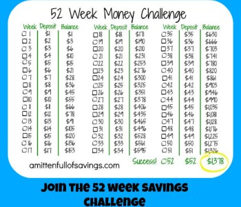 52 week 52 week challenge money save ways 52 week money challenge printable