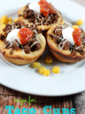 recipe for taco cups, taco recipes, easy meals