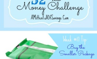 52 Money Save Ways: Week 17: Buy The Smaller Bottle