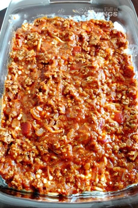spaghetti bake process 4