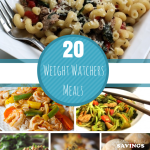 20 Affordable Weight Watcher Meals