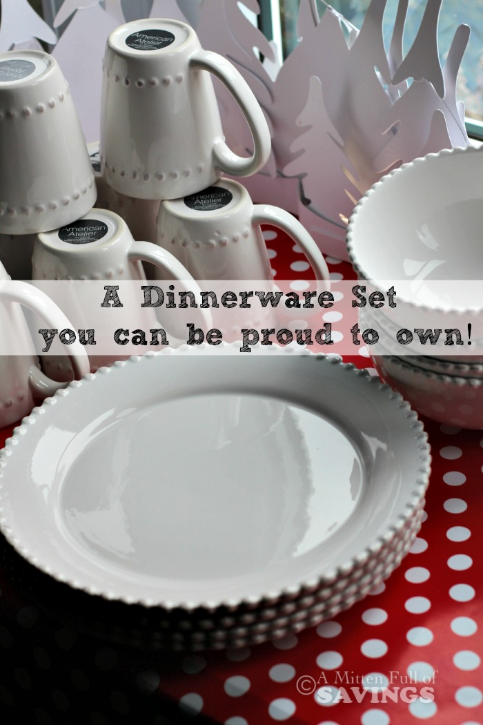 & Dinnerware You Can Be Proud Of: Simple Yet a Stylish White Set