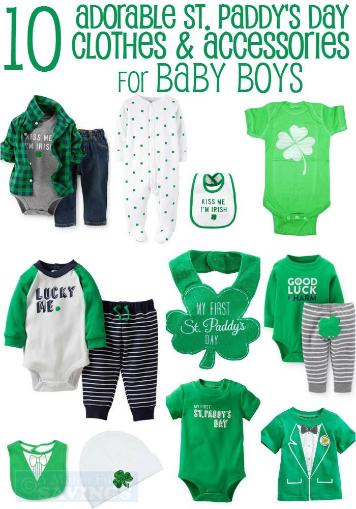 10 Adorable St Patrick s Day Clothing Ideas for Baby Boys