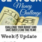 52 Week Money Challenge – Ways To Save Money Week 13