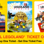Travel Deal: LegoLand B1G1 FREE Tickets for Park/Discovery Center