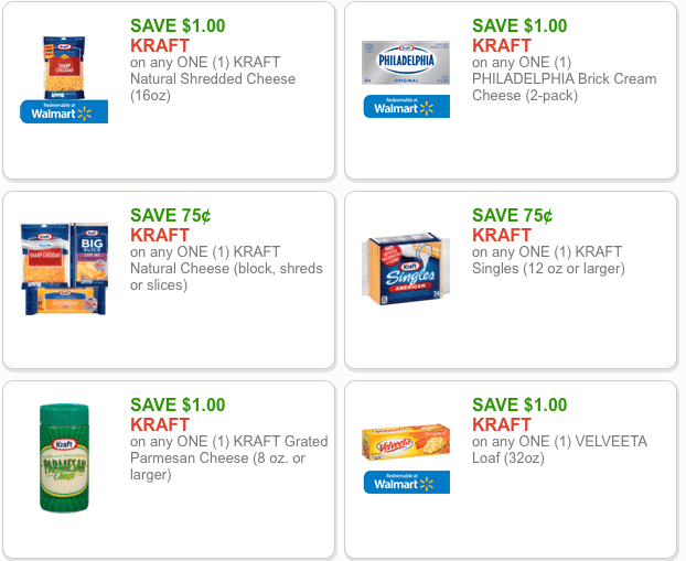 picture relating to Kraft Coupons Printable called Meijer: Refreshing Large Cost Kraft Discount codes and promotions