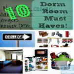 List Of 11 Dorm Room Essentials & Checklist