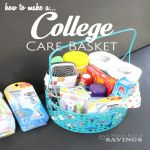 How to Make a College Care Basket #SchickSummerSelfie
