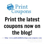 BIG Round of NEW Coupons To Print 1/18
