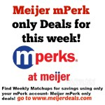 Meijer mPerk Only Deals: Week 3/26-4/1