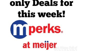 Meijer mPerk Only Deals: Week 8/13-8/19