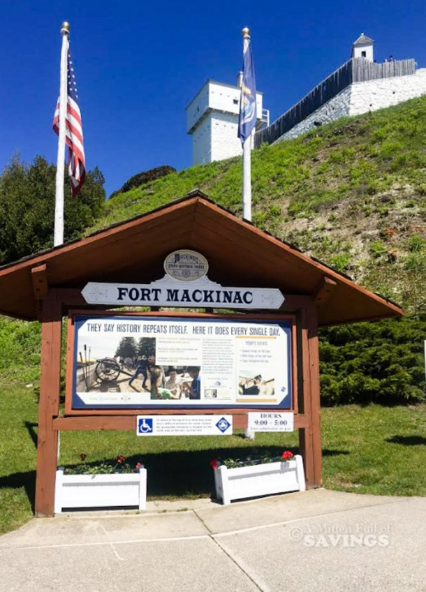 things to do at Fort Mackinac