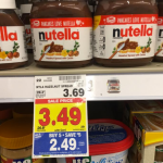 Kroger MEGA: #STOCKUP on Nutella $1.49
