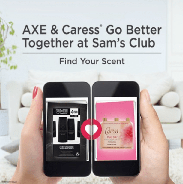 Sam's Club Caress and Axe