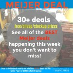12/3-12/9 Meijer Deals You Don't Want To Miss This Week