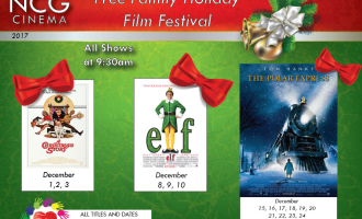 FREE Family Holiday Film Festival At NCG