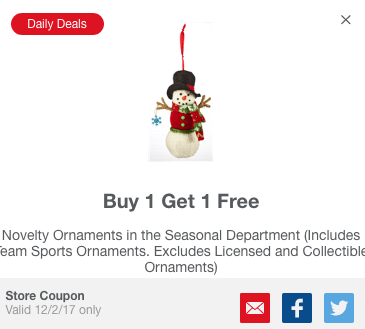 Meijer BOGO mPerk offer