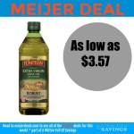 Meijer: Pompeian Olive Oil Deal– $3.57 and up
