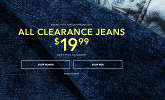 American Eagle Jeans Just $20 Bucks {variety of styles}