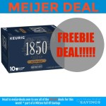 Meijer 1850 free coffee