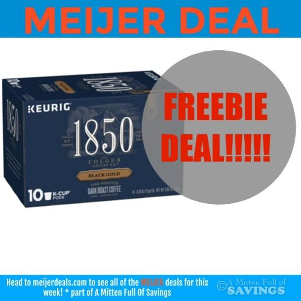 Meijer 1850 free coffee