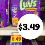 Kroger MEGA: Luvs Diapers $3.49!!!!