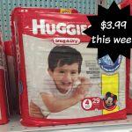 Meijer: Huggies Diapers for as low as $3.99