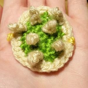 Crochet Bowser Tortoise Shell Cozy