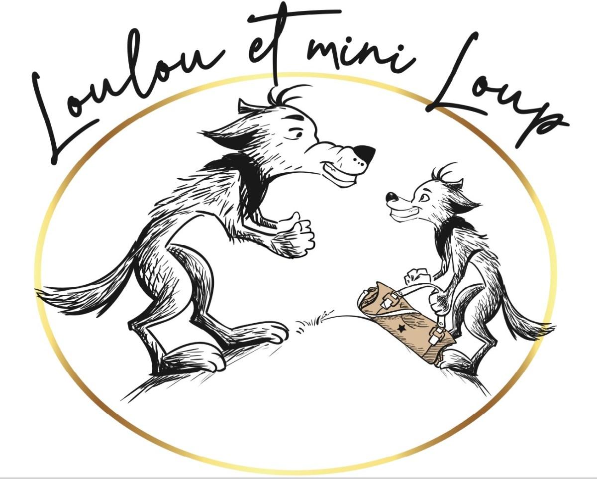Logo Loulou et mini loup