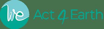 Logo We Act 4 Earth