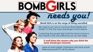 Save Bomb Girls