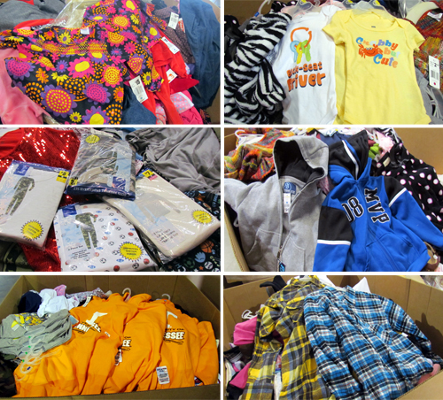 liquidation truckloads of new apparel men s women s and