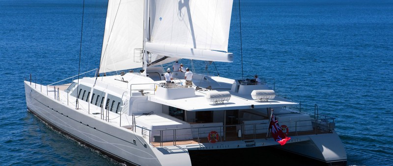 Fabulous 104 Foot Catamaran Necker Belle Available Now For