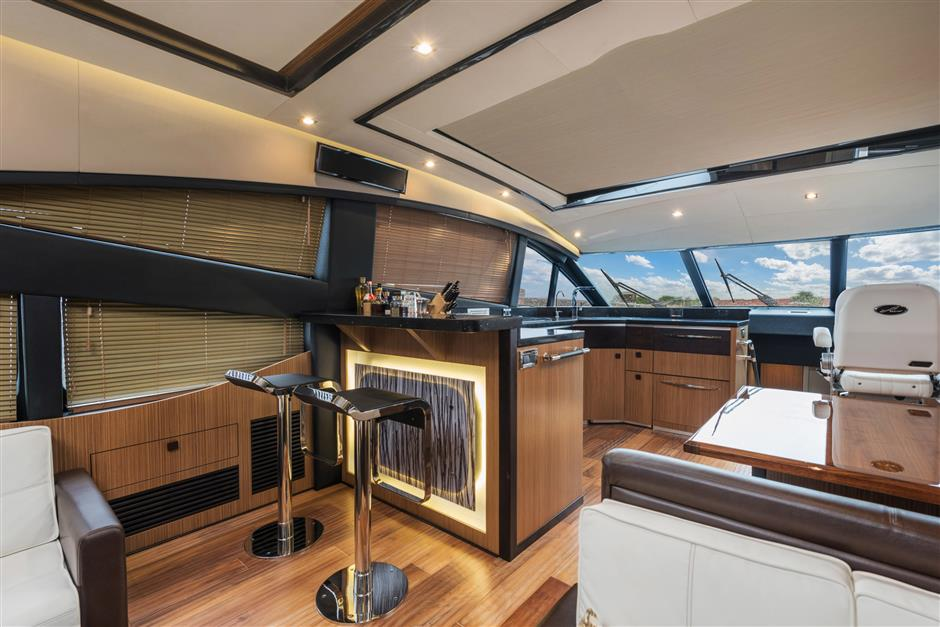 The Four Stateroom 65 Foot Moon Over Miami Motor Yacht By
