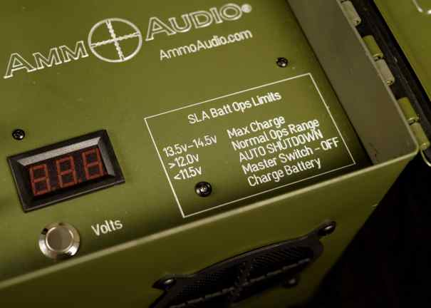 SLA battery specs bluetooth speaker